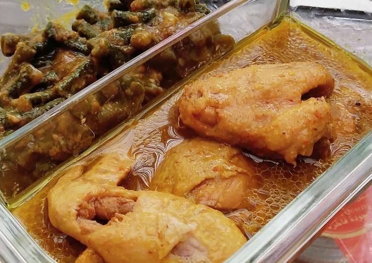 Ayam Betutu Presto Sayur Kacang Panjang
