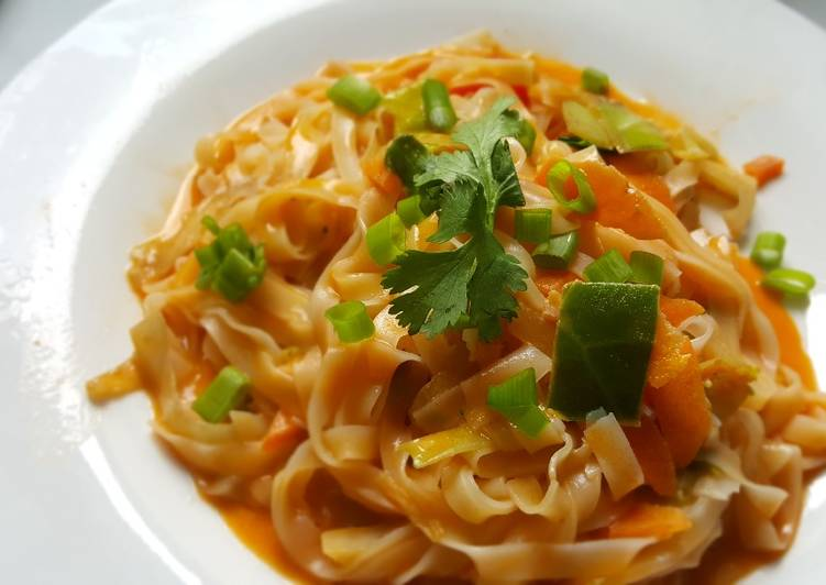 Thai Red Curry Noodles Choosing Fast Food That's Very good For You
