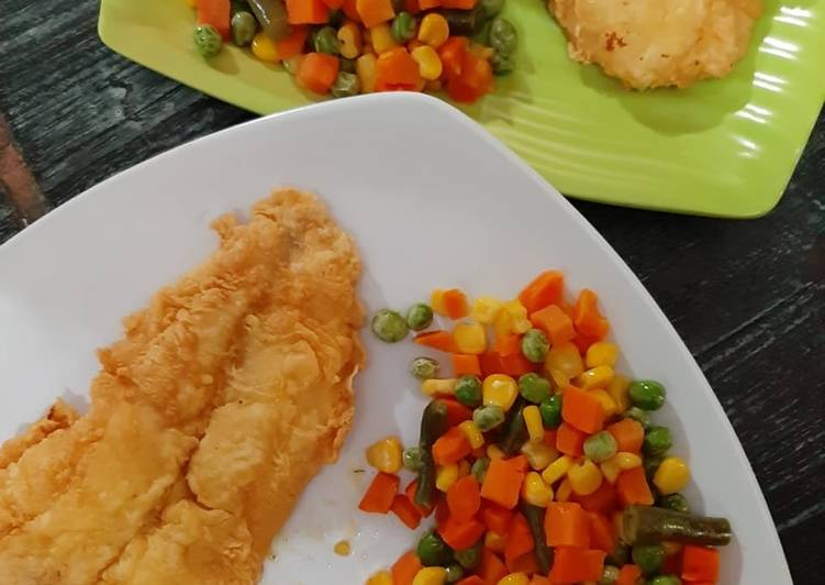 Fish n chip ala rumahan (jaminan enak)