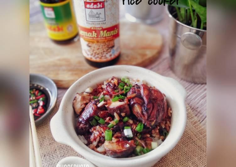Nasi Ayam Kicap 'rice cooker' - velavinkabakery.com