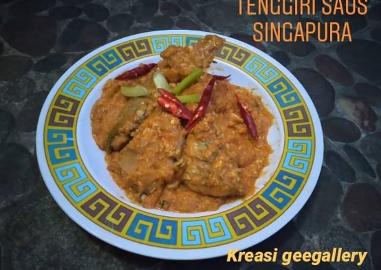 Tenggiri saus singapura