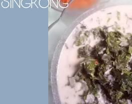 Sayur Daun Singkong (bobor daun singkong)