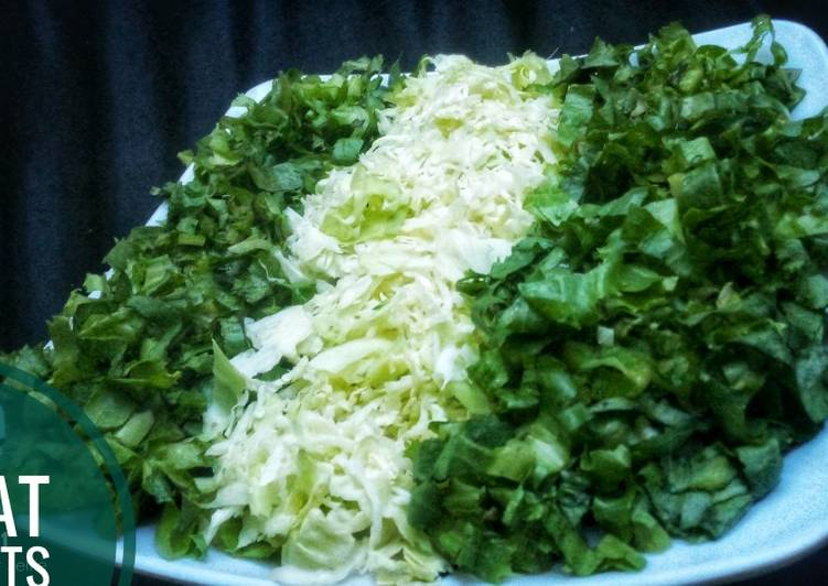 How to Prepare Award-winning Lettuce and cabbage salad