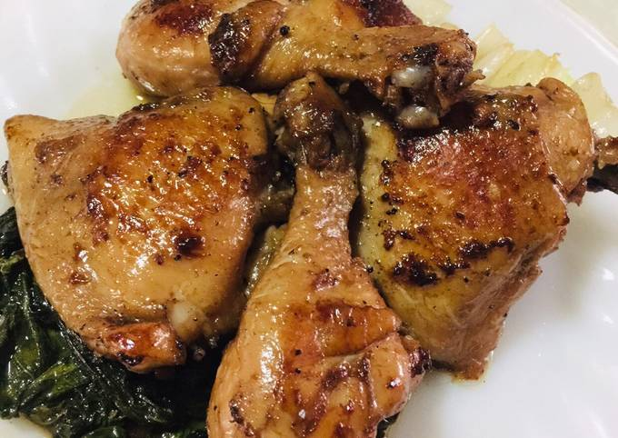 Asian Spiced Sesame Soy Chicken (sans the xiao xing)