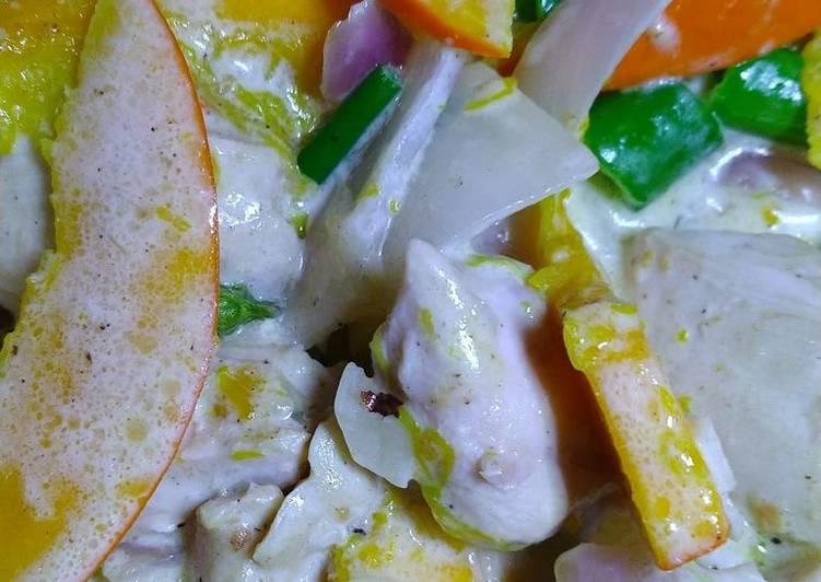 Creamy Chicken Kabocha