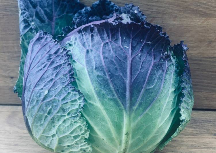 Simple Way to Make Top-Rated Chilli and Garlic Purple Cabbage or Sprouting