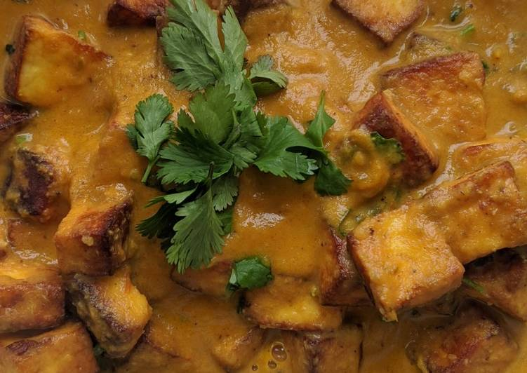 Cottage cheese(paneer)curry