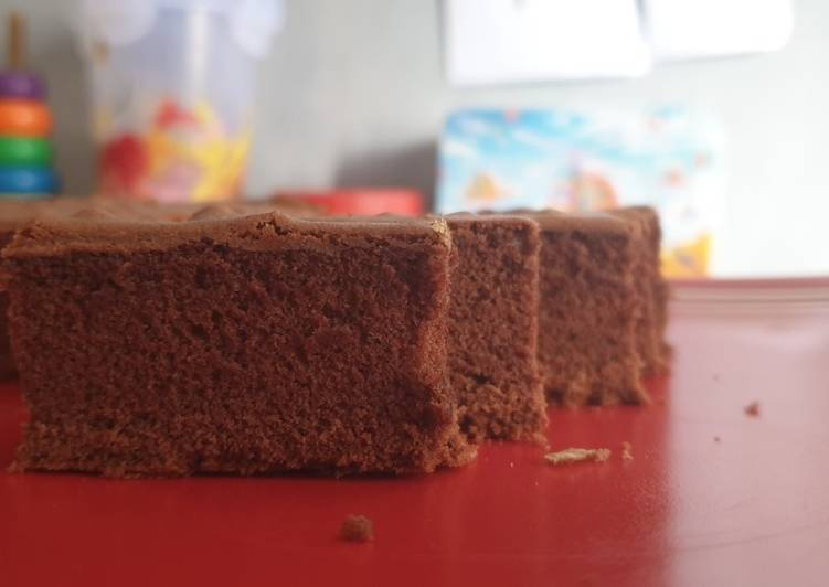 Sponge cake kokoh dan lembut