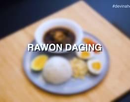 Rawon Daging - Lezat Praktis Dengan Slow Cooker
