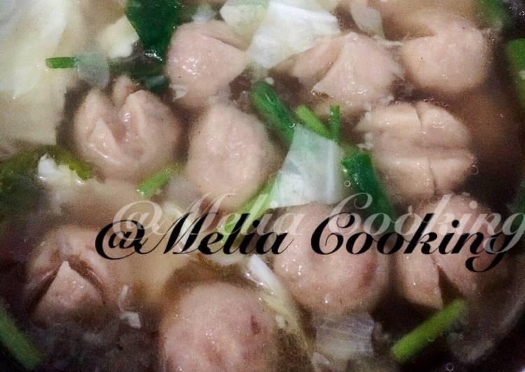 Soup Bakso Bumbu Tradisional