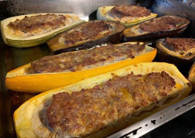 Légumes farcis aux saveurs basques