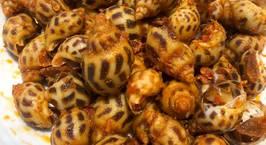 Hình ảnh món Ốc hương rang muối - cay cay mặn mặn - mồi nhậu