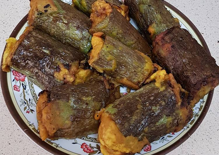 Steps to Prepare Perfect Stuffed snake gourd