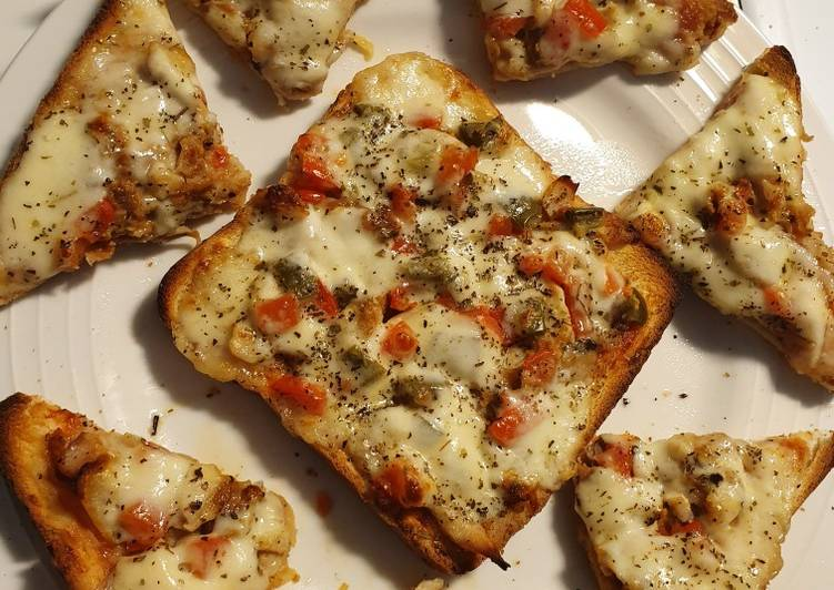 Steps to Make Award-winning Pizza bread