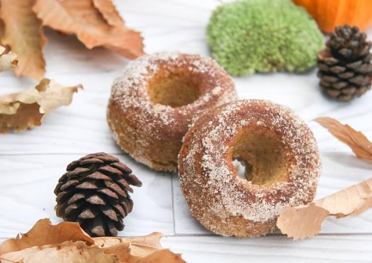 Donuts à la courge butternut (cuits au four)