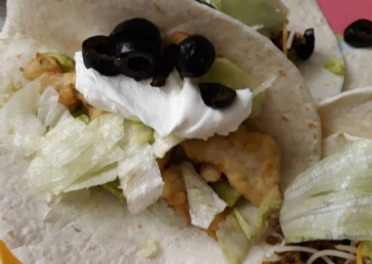 Recipe: Appetizing Fresh Fish Soft Taco while on vacation