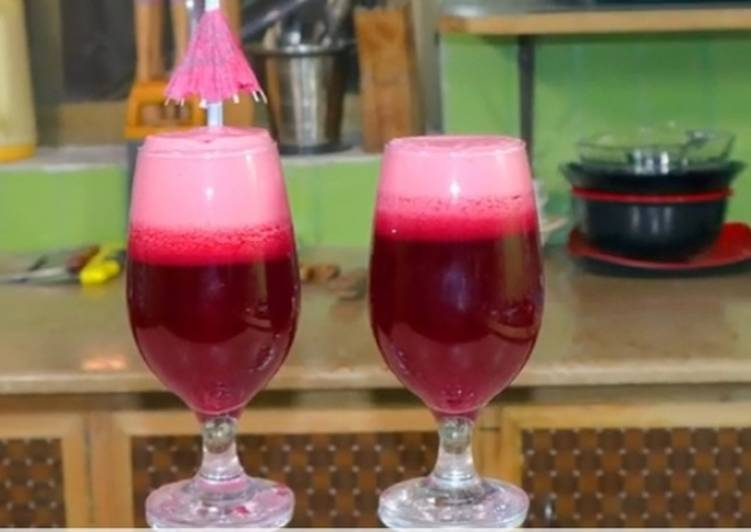 Step-by-Step Guide to Make Any-night-of-the-week Rich Red Pomegranate Juice (:Anar Ka Juice:)