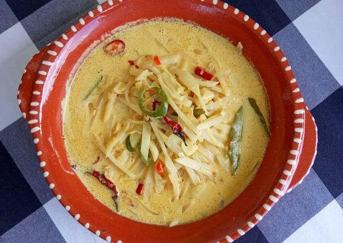Labu Siam kuah Kuning