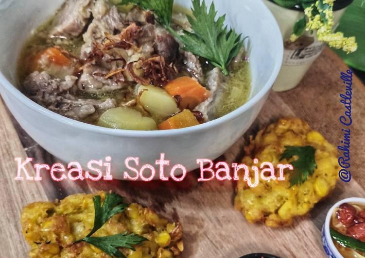 Kreasi Kuah Soto Banjar