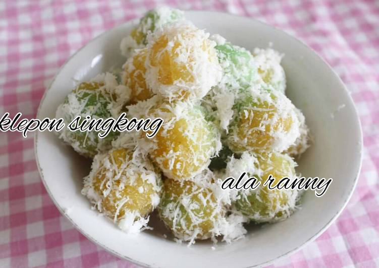 Resep Klepon singkong