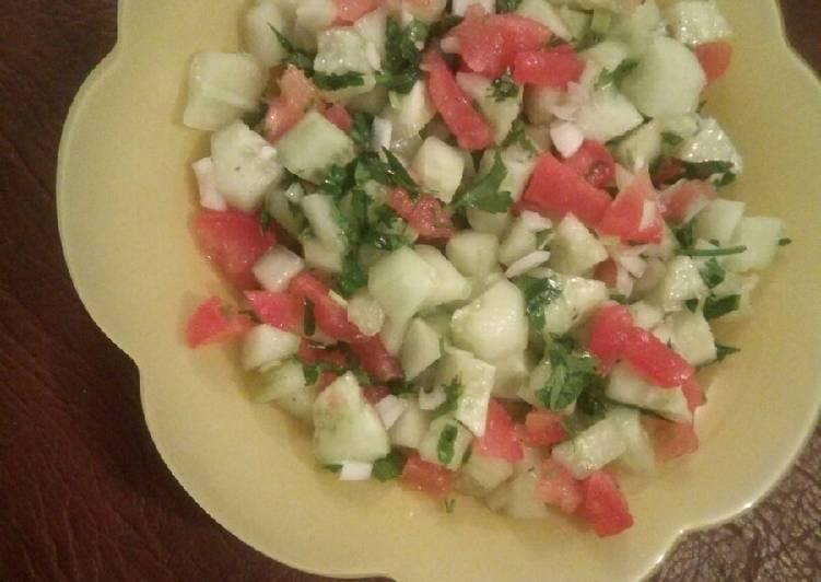 Salade de concombre 🇩🇿