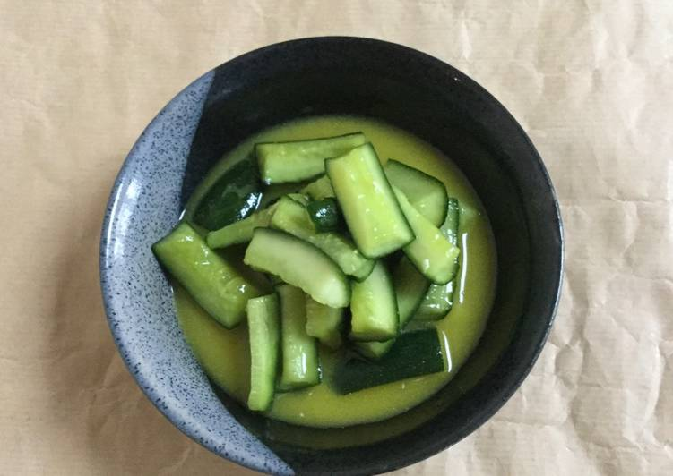 Recipe of Favorite Pickled Cucumber