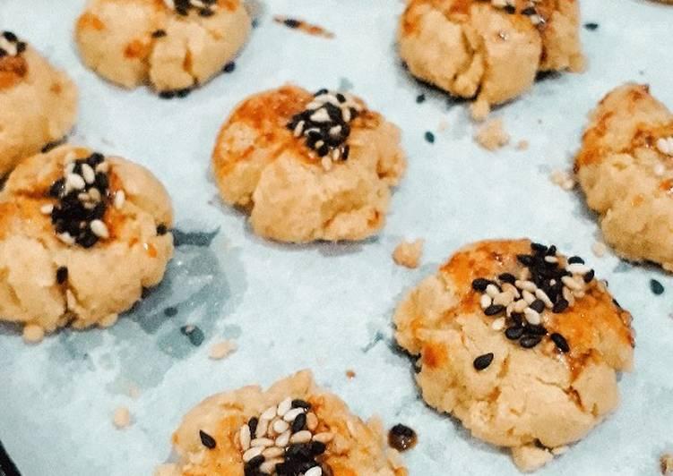 Chui Kao So • Crunchy Chinese Cookies TANPA Mixer Bahan Murmer ♡