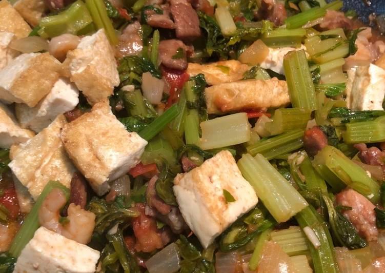 Chinese celery w/ Tofu