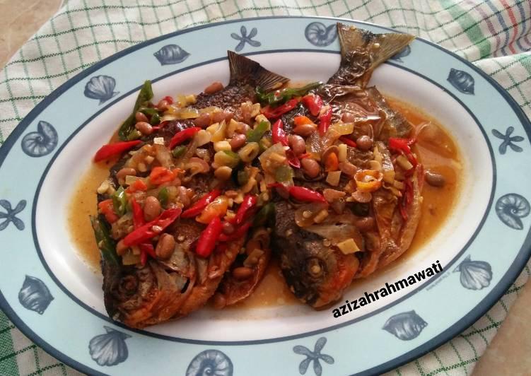 Ikan bawal tauco