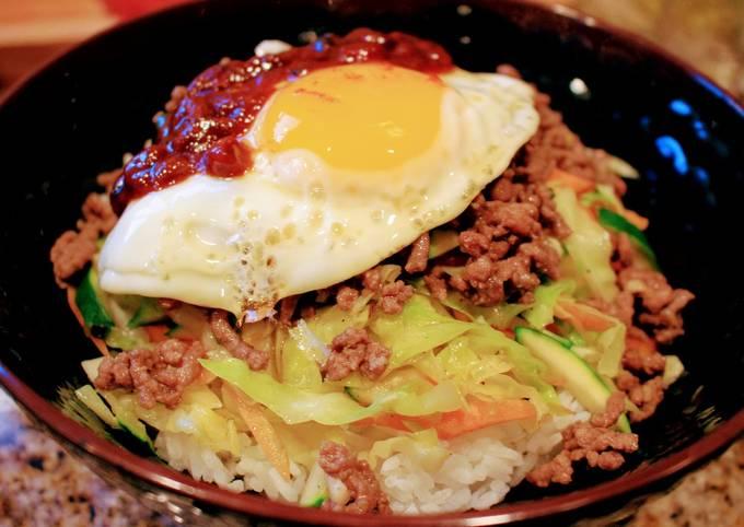 Quick & Easy Bibim Bap (Korean)