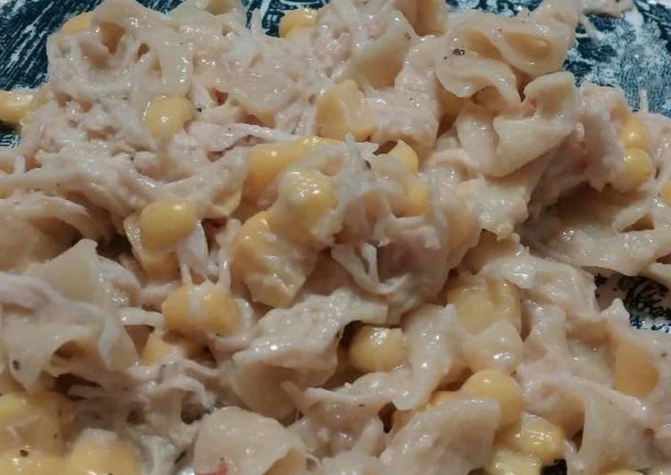 Recipe: Tasty Crockpot Chicken N Noodles