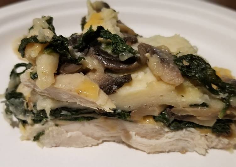 How to Prepare Perfect Chicken with spinach and mushrooms