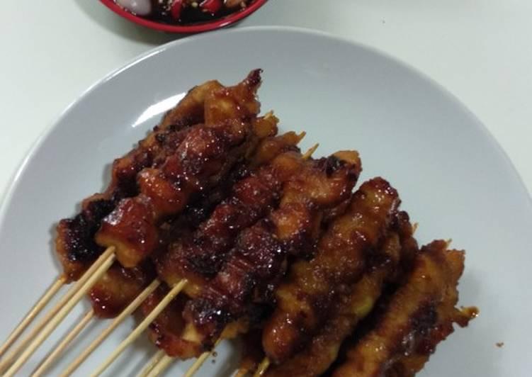 Sate Ayam kecap - cookandrecipe.com