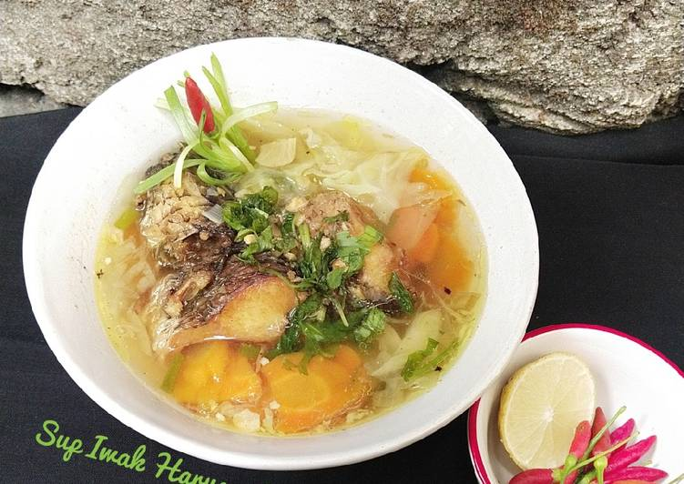 Sup Iwak Haruan (Ikan Gabus)
