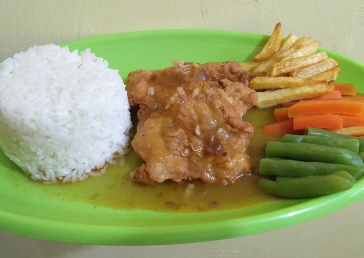 Steak Ayam