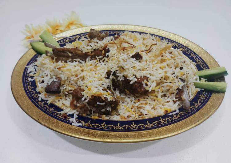 Steps to Prepare Perfect Mutton chops pulao