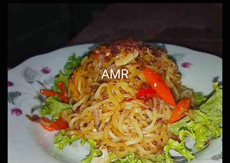 Resep Mi Kuah Goreng Sedaap Ayam Bawang (Anak kos banget) Top