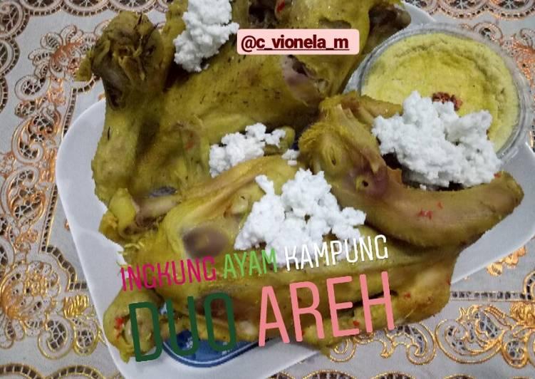 Resep Ingkung Ayam Kampung Duo Areh Oleh Resep Vionela Cookpad