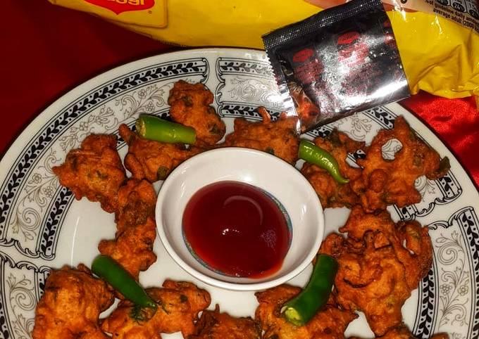 Crispy Maggi veg bhajiya