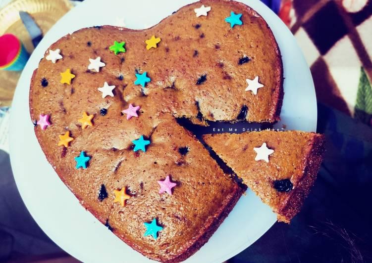 Recipe of Any-night-of-the-week Beetroot Choco Cake (in Kadhai)