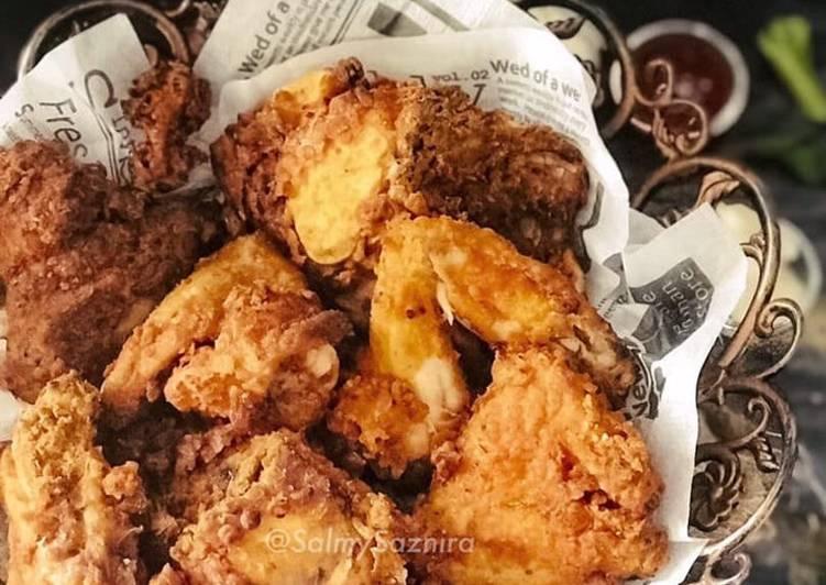 Ayam Goreng Air Fryer ala KFC - resepipouler.com