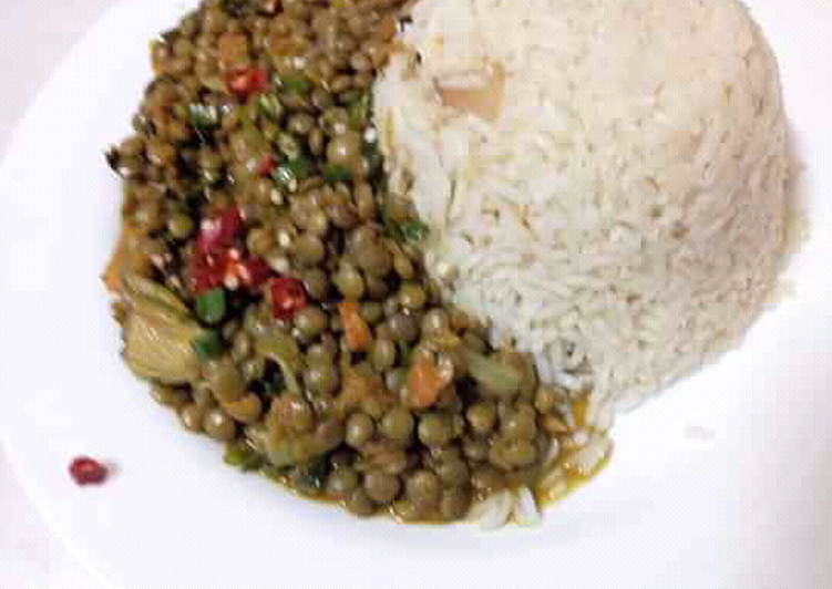 How to Boost Your Mood with Food Rice kamande(lentils)