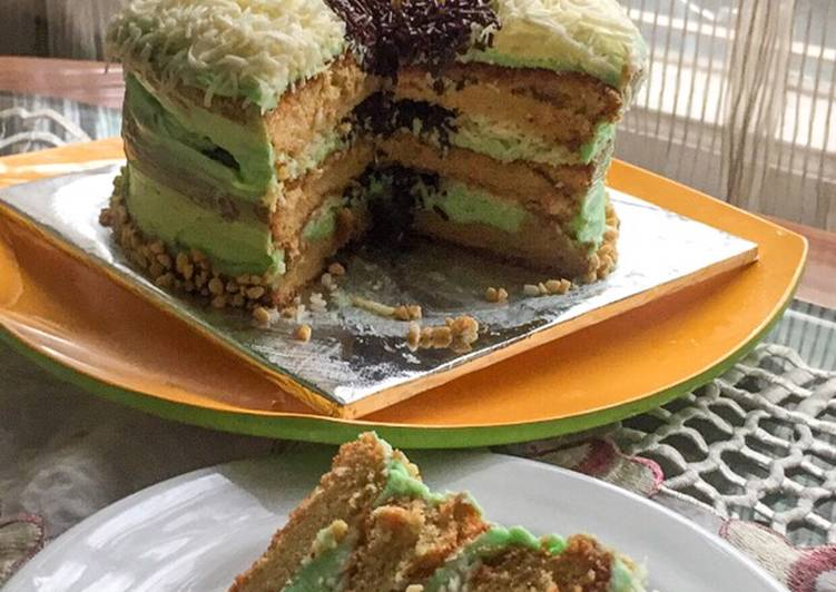 Gluten Free Birthday Cake (Martabak Cake)