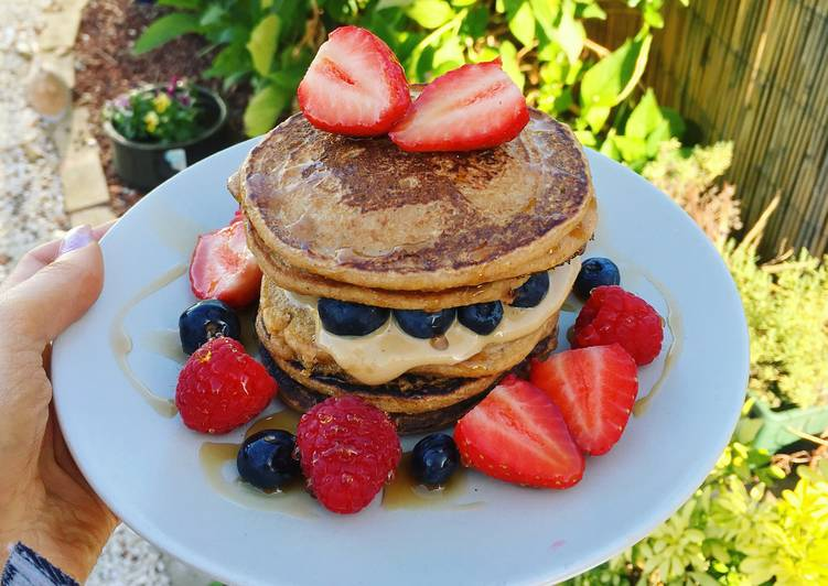 Easiest Way to Make Perfect Vegan pancakes