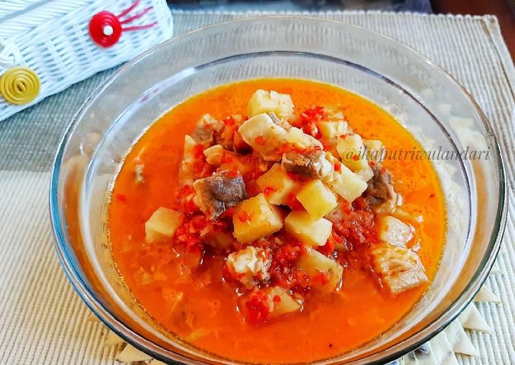 Sambal Goreng Daging (Khas Indramayu)