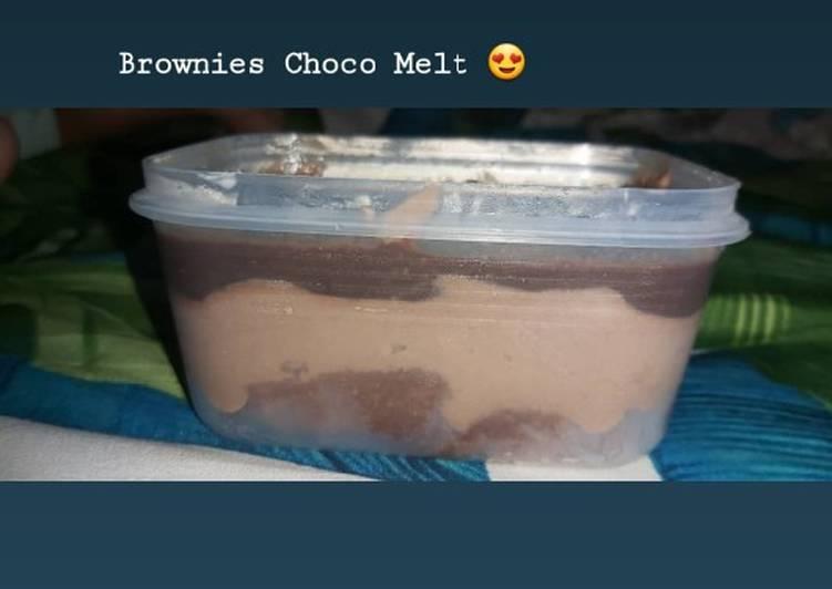Brownies choco melt NO MIXER