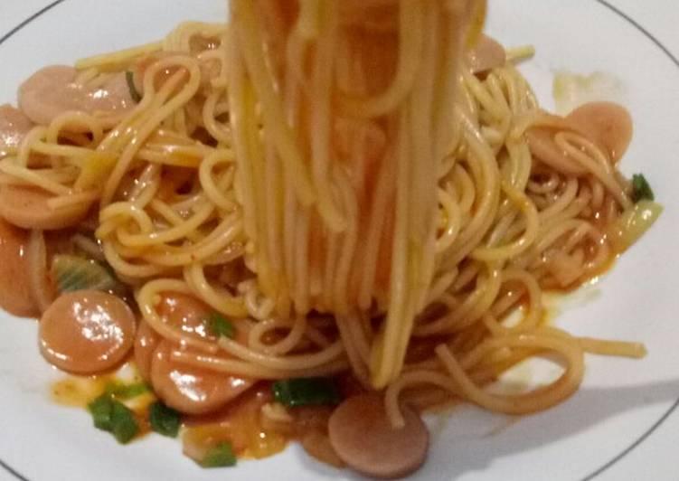 Spagetti ala kadarnya