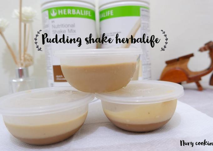 Pudding shake herbalife (diet)