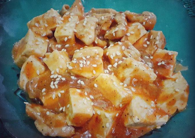 Ayam Tahu saus Padang