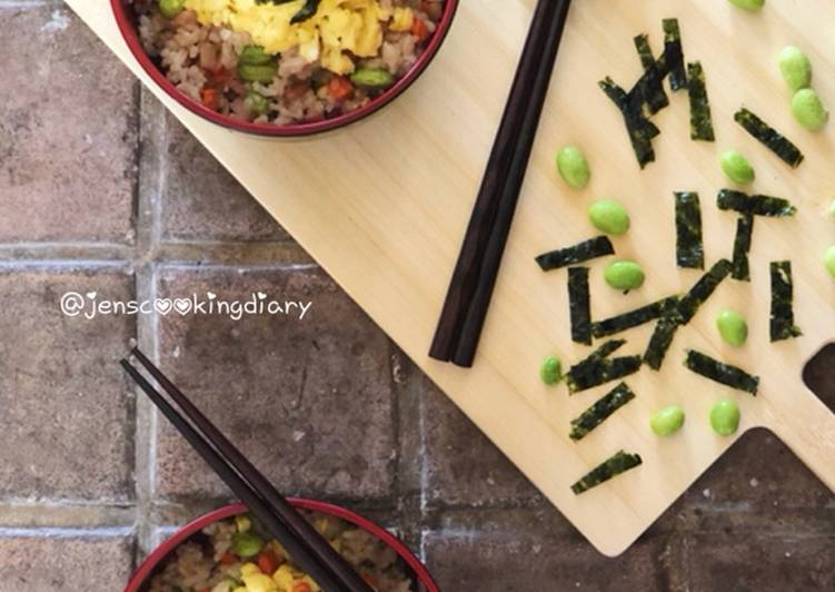 Recipe of Homemade Edamame Fried Rice